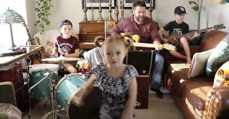 For the Clark family of Tampa, Florida, quarantine means learning a brand new song every morning and performing it for their ever-growing web audience every evening. Of course, it helps that dad Colt Clark is a professional musician! Do you have a talent that is helping you cope through this difficult time?