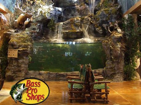 If you have visited Bass Pro Shops, did you check out the in-store fish aquarium?