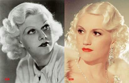 Scorsese thought Gwen would be perfect for the role. The Aviator was Stefani's first movie. Do you think Gwen Stefani resembles Jean Harlow?