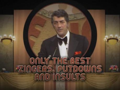 Did you know that certain DVDs of the Dean Martin Celebrity Roasts contain a warning? One reads