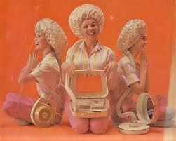 Did you ever use on of these old hair dryers when you were growing up?