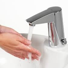 Do you have automatic faucets at your work or home?