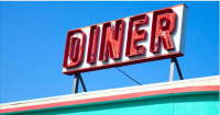 *MentalFloss*Diner lingo is said to have roots in the 1850s, but didn't gain much traction until it permeated the popular luncheonettes during the next century. Things like