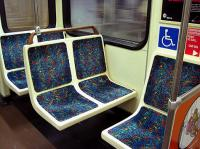 When you first enter LA buses, the front seats are reserved for seniors and the handicap passengers. Quite often, there are those that don't qualify for these seats, that are sitting there. For example: teens, Moms with kids, non-handicap and others under the senior age. If you were a senior or had a handicap bus pass and you entered the bus, and the front seats were taken what would you do?