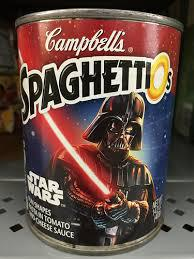 Finally, I have never seen Star Wars and I have never had Spaghettios. How about you?