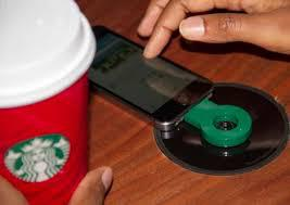 Last year, around this time, Starbucks unveiled Powermat wireless charging in approximately 200 of its stores in the San Francisco Bay Area. However, they are also in most Starbucks in my area, and very popular. Check off what is true for you: