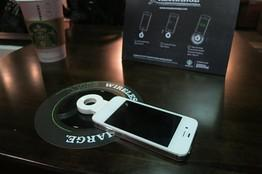 I have seen people run in quickly just to charge their phone. Have you done this at Starbucks?