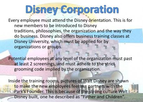 When I was completely my undergrad degree (Business & Psych) I learned in one class, that certain companies create a cult like atmosphere with employees. Do you think that Disney is like that with fans, or could be like this for fans that use the dating site?