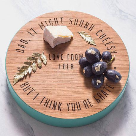 Personalized cheese board?
