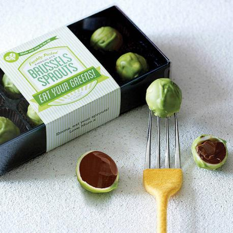 Chocolate brussels sprouts?