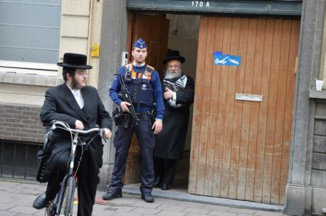So last year when my shule celebrated Yom Kippur, we had to use a local church as our shule is too small. When I came out from day 1, there was a patrol car on the street. A member then told me that every Jewish New Year, the police automatically give the 3 temples in my city extra protection. This is 2015, does this surprise anyone that the Jewish need protection?