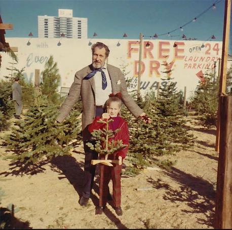 Featured is a photo of Vincent Price and his daughter purchasing a Christmas tree in Hollywood, CA. Are you a fan of Vincent Price?