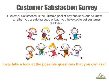 Currently only 1-2% of consumers respond to the customer satisfaction surveys. Do you participate?