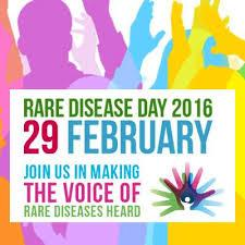 February 29, 2016 is Rare Disease Day. A disease is considered rare if less than 200,000 people have it. Check off which is true for you.