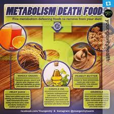 Which of these 5 Metabolism Death Foods (according to Dr. Oz) are currently in your diet?