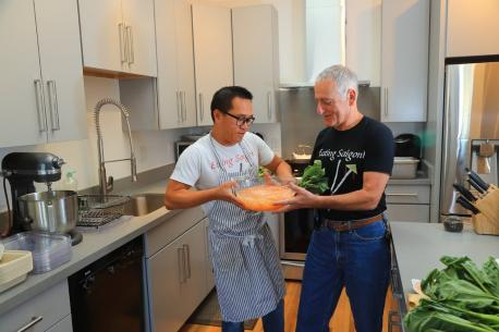 With the signing of a new law in California, Mr. Lam, who with his husband, Joe Acanfora, run an under-the-radar business selling home-cooked Vietnamese food in the Bay Area, and can now legally sell food that is cooked in their home, but can only make up to $50,000 per year (Oysters and raw meat are not allowed). Are you familiar with this story?