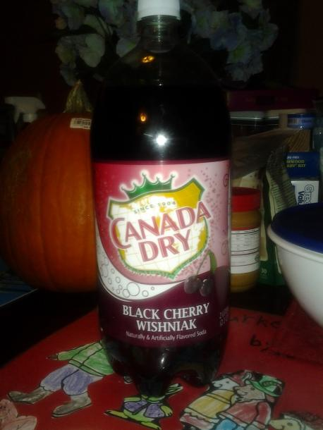 Have you tried Canada Dry Black Cherry Gingerale?