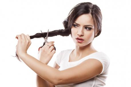 Do you cut your own hair or does someone else do it for you?
