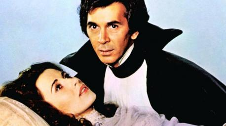 One of his most famous performances was that of Dracula in the 1970s. He not only starred in the film version but the Broadway production too. The role made him a heartthrob. Did you see the play and/or movie?