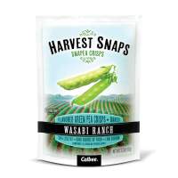 They come in different flavors, like Lightly Salted, Caesar or Wasabi Ranch, would you try them? In the comments: Are there any other vegetables that you would eat baked like these snap peas?