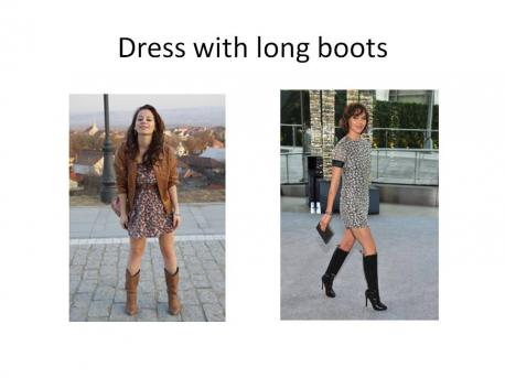My husband thinks cowboy boots is not a good look, but I disagree, which do you prefer?