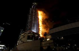 Did you see the downtown inferno in Dubai on December 31st?