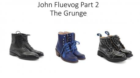 In the 1990's John Fluevog also played a huge part in the grunge scene with his trademark boots. Did you know this?
