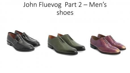 I think the men's shoes are very trendy and look great, would you agree?