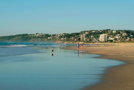 Coolum Beach is a tourist area and boasts a beautiful white sandy beach, would that be somewhere you'd like to vacation?