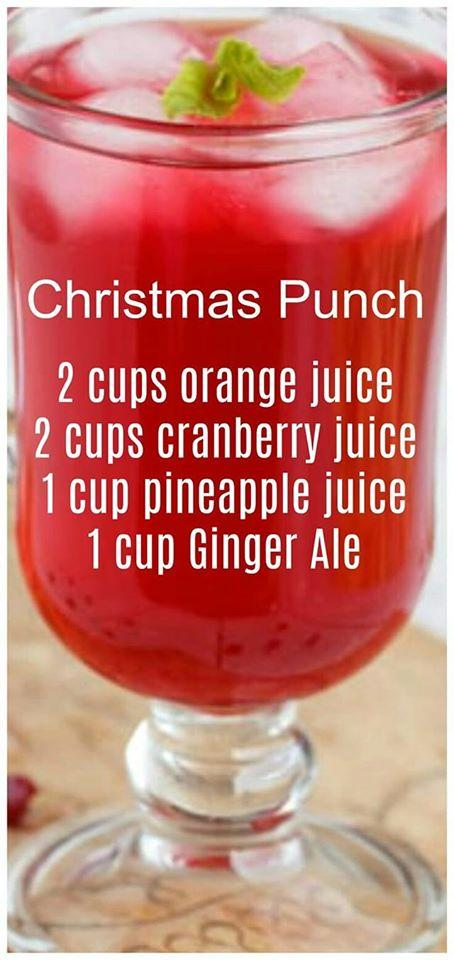Do you serve Christmas Punch to your guests during the holidays?