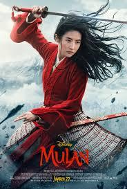 Have you heard of the live action movie Mulan?
