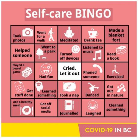 Twitter users were quick to criticize the government for minimizing and trivializing the devastating impact of the nearly yearlong pandemic. Do you think this bingo card is trivializing the impact of COVID 19?