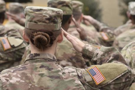 Do you think both men and women should both be required to join the military if there is another war?