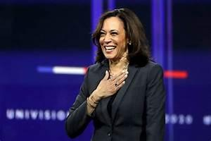 Which statement is closet to your thinking about Kamala Harris? That she is...