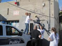 Would you help clean graffiti in your neighborhood?