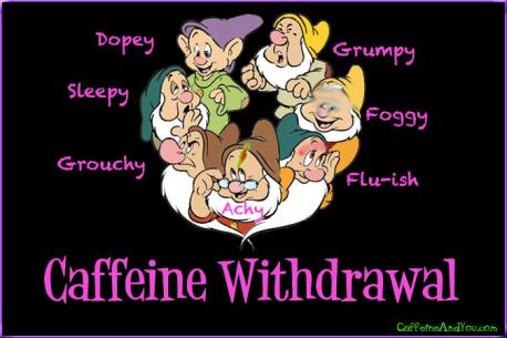 Do you suffer from caffeine withdrawal?