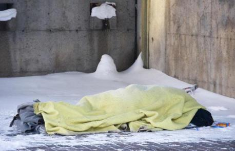 Do you think the government should take action in regards to helping homeless people get off the streets in freezing temperatures?