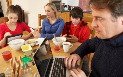 Do you put your phone away during meals at restaurants?