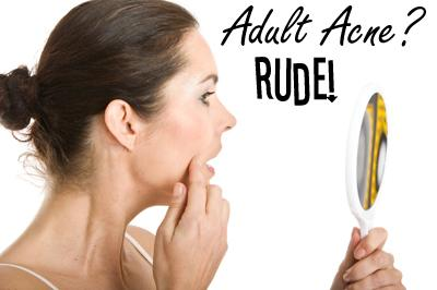 Do you suffer from adult acne?