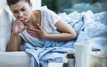 Do you get dry cough during sleeping hours?