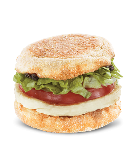 Halloumi Muffin (McDonald's; Pakistan): grilled halloumi, shredded lettuce, tomato slice, and olive paste. Does this sound like something you'd like to try?