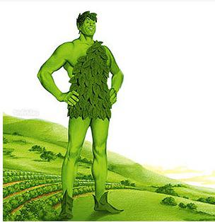 Do you remember TV commercials with the Green Giant walking through the valley?