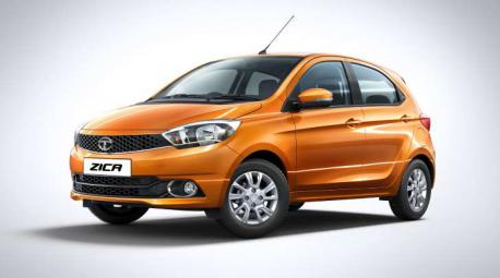 Tata Motors has in recent weeks been heavily promoting the small Zica -- whose name stands for