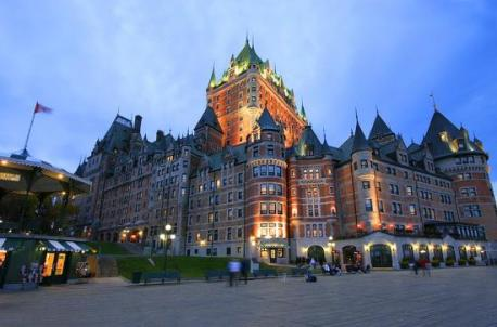 Quebec - Fairmont Le Château Frontenac - Perhaps the most famous hotel in Canada, Chateau Frontenac, is a fixture of the Quebec City skyline. Originally built in 1893, this chateau has gone over several facelifts but remains in operation, featuring over 600 rooms amongst its 18 historic floors. Have you ever stayed at this hotel?