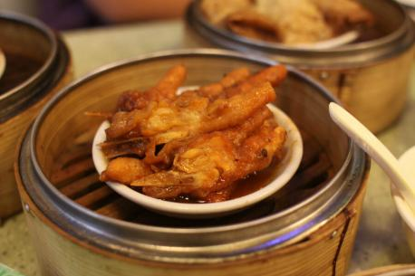 Chicken's Feet – East Asia, Caribbean, South America and South Africa - Considering how many places it's eaten, perhaps it's unfair to deem this weird. Still, it's made mostly of skin making it a little gelatinous in texture. They're pretty tasty I've heard when flavored properly, but the bones must get on your nerves after a while. Have you ever had this food?