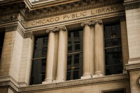 Illinois: The Chicago Public Library - The Chicago Public Library is one of 80 branches within Chicago's public library system. Have you ever visited this library?