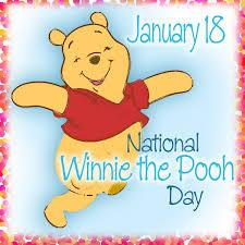 On January 18, 1882, the creator of Winnie the Pooh was born. A.A. Milne has created many children's characters and is the author of many books. Now, every year we celebrate Winnie The Pooh Bear Day on the day of the author's birthday. Did you read these books growing up or to your children?
