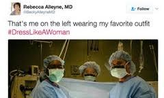 In response to Trump's alleged dress code, thousands have taken to the social media platform to tweet images of women in the workplace, alongside the hashtag #DressLikeAWoman. Do you think this campaign makes sense?