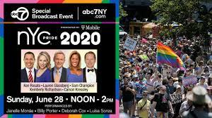 This year, virtual celebrations are being organized all over, with one of the biggest being the NYC virtual June 28 event, which will be broadcast on local TV and streamed on ABC News Live. This event will be headlined by singer Janelle Monae, Billy Porter, Deborah Cox and