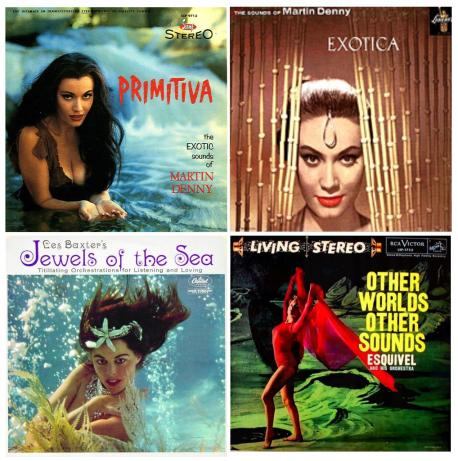 Do you know some of theses ''Exotica/Tiki Culture'' musicians from the 50's?